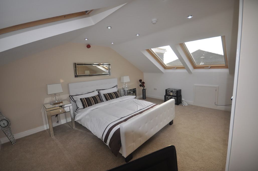 loft conversion lighting ideas - Velux conversion
