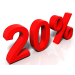 20% Increase